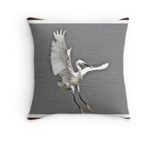 """ I hate this Wind"" Throw Pillow"