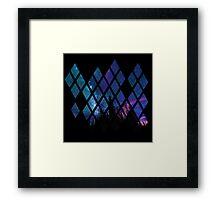 Diamond Sky Framed Print