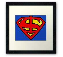Super Dollar Framed Print