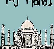 Taj Mahal by Logan81