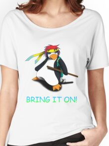 Juppo - Ninja Penguin Women's Relaxed Fit T-Shirt