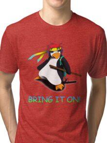 Juppo - Ninja Penguin Tri-blend T-Shirt