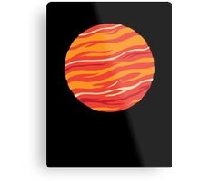 Bound for Planet Bacon… Metal Print