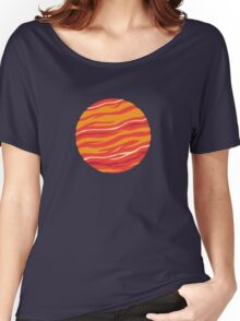 Bound for Planet Bacon… Women's Relaxed Fit T-Shirt