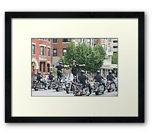 Do Not Try This At Home Framed Print