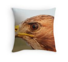 Red Tail Throw Pillow