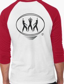 Lating Dance workout t-shirt Men's Baseball ¾ T-Shirt