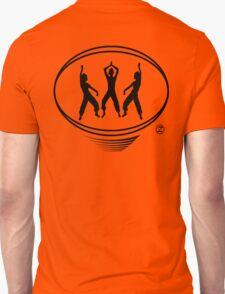 Lating Dance workout t-shirt Unisex T-Shirt