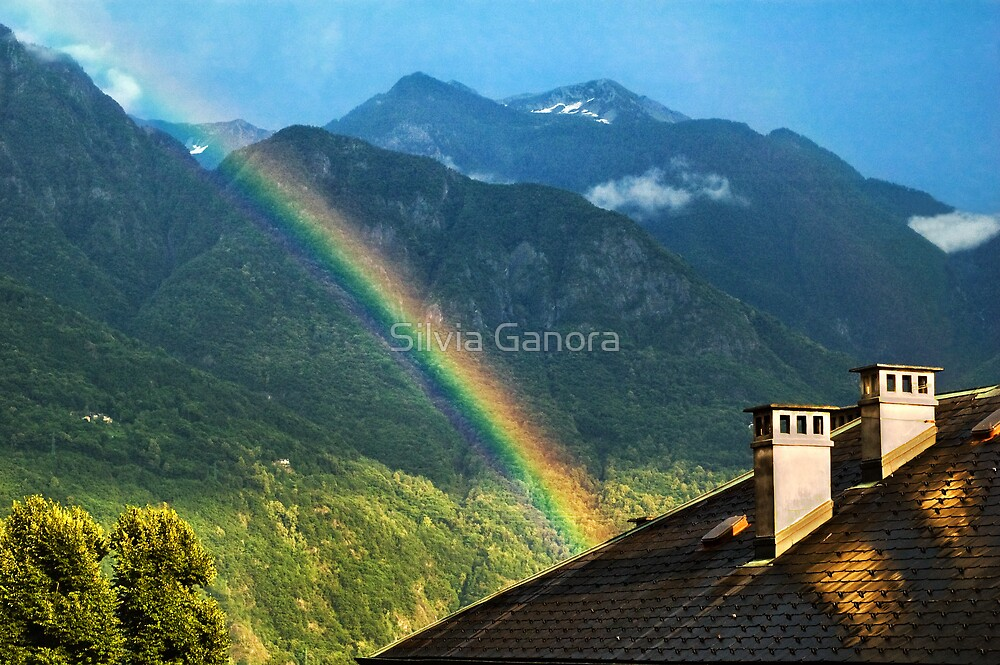 Over the rainbow by Silvia Ganora