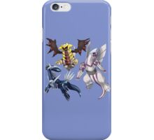 pokemon palkia dialga giratina anime shirt iPhone Case/Skin