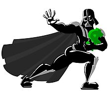 Darth Vader makes his Heisman Trophy run for the Dollar Photographic Print