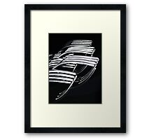 Repetition Framed Print