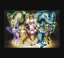 pokemon eevee espeon umbreon flareon anime lapton skin Kids Clothes