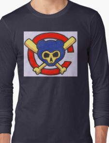 crossbone bats Long Sleeve T-Shirt