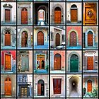 Doors of Florence and Siena by mrthink