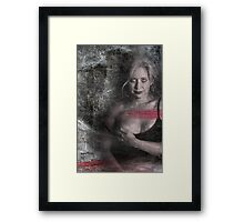 Passion and Desperation Framed Print