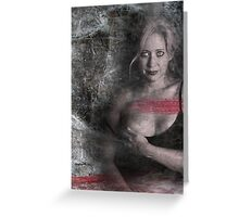 Passion and Desperation Greeting Card