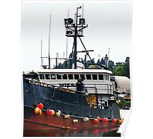 The Wizard - Deadliest Catch Crab Vessle - Wheelhouse Poster