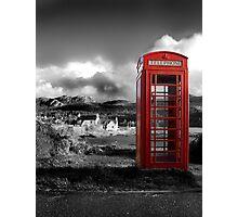 Red Phone Box Photographic Print