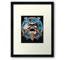 Othar Metal God  Framed Print