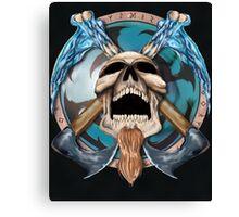 Othar Metal God  Canvas Print
