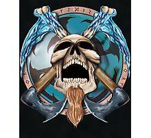 Othar Metal God  Photographic Print