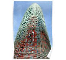 Modern Building Poster
