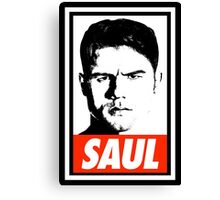Saul 'Canelo' Alvarez - OBEY Parody Canvas Print