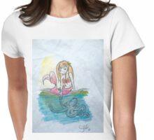 Ocean Friends Womens Fitted T-Shirt