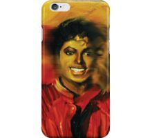 Micheal Jacksons Faces of THriller iPhone Case/Skin