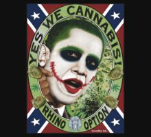 Obama T-Shirt Yes We Cannabis! by bear77
