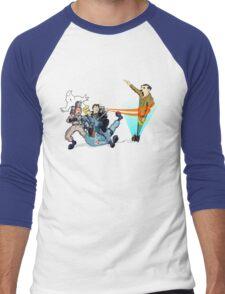 Ghost  Hitler Men's Baseball ¾ T-Shirt