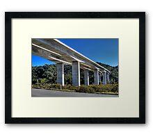 HDR Bridge Framed Print