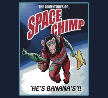Space Chimp!! by Steven  Austin