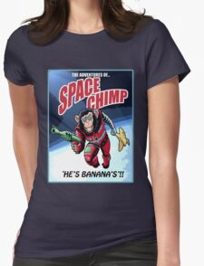 Space Chimp!! Womens Fitted T-Shirt
