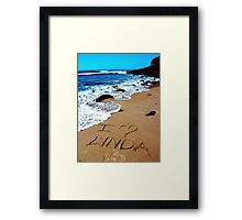 TRUE PROPHECY Framed Print