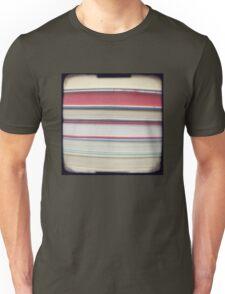 Red stripe books photograph Unisex T-Shirt