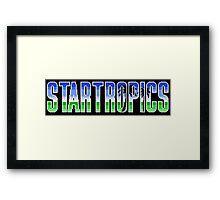 Startropics Framed Print