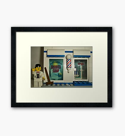 From fade's to fro's Framed Print