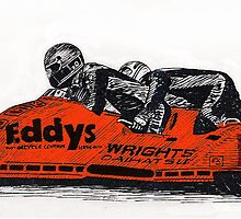 Eddie Wright sidecar team by petertucker