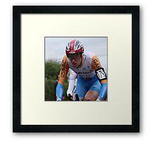 British TT Champion 2009 - Bradley Wiggins Framed Print