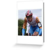 British TT Champion 2009 - Bradley Wiggins Greeting Card