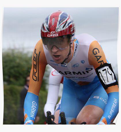 British TT Champion 2009 - Bradley Wiggins Poster