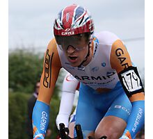 British TT Champion 2009 - Bradley Wiggins Photographic Print