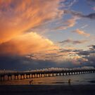 Sunset at Sharky's... by DaveHrusecky