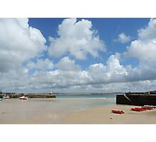 Cornwall - Low tide at St Ives Photographic Print