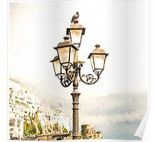 Amalfi City Light Poster