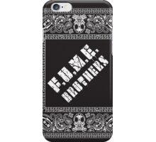 Fume Brothers Bandana iPhone Case/Skin