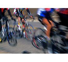 Cyclists - Redlands, California Photographic Print