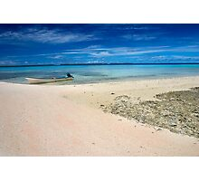 And Shoals - Pohnpei, Micronesia Photographic Print